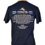 Pemberton Event Tee Back