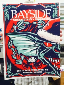 Bayside show poster